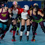 My alter-ego, Anita Whacksa Beaver, plays roller derby a few times a week.
