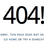 Sometimes it's good to put yourself on 404 error