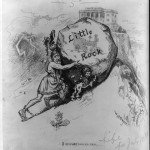 Cartoon by William Allen Rogers published in Life, August 21, 1884.  Library of Congress