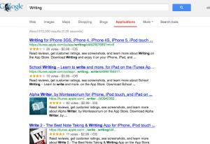 Google Application Search