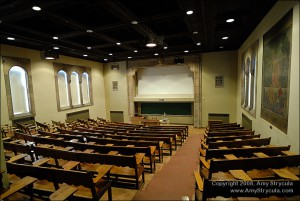 College Classroom in  the Cathedral of Learning
