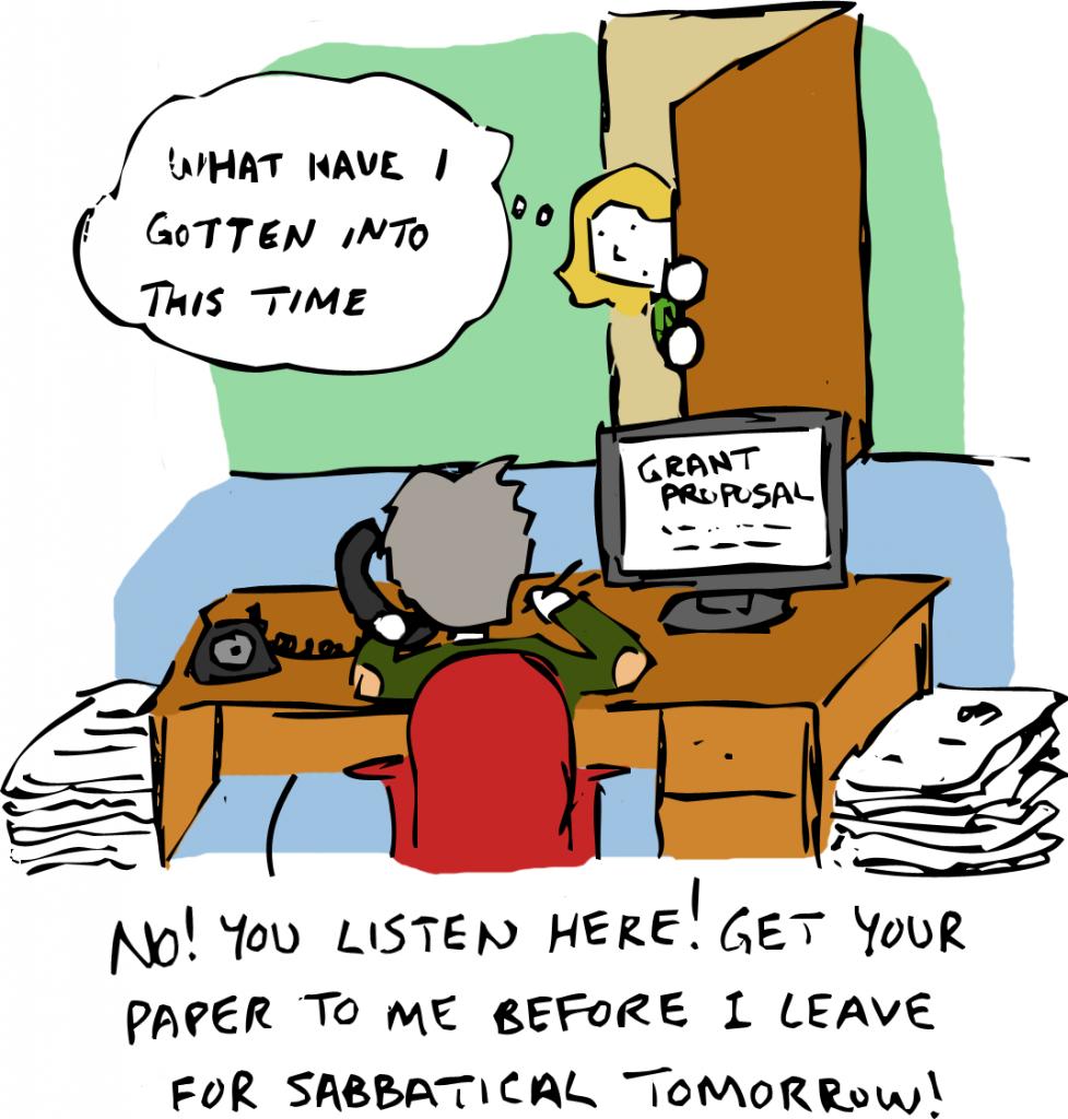 Cartoon by Geoff Lee